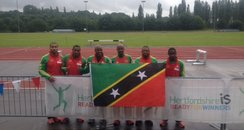 St Kitts and Nevis Olympic Sprinters