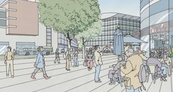 Artists impression of Markey Way