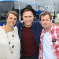 Backstage with Olly and Pixie
