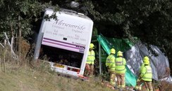 A3 coach crash