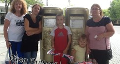 Paula at Gregs Post Box In Milton Keynes