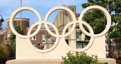 The rings are made out of Portland Stone