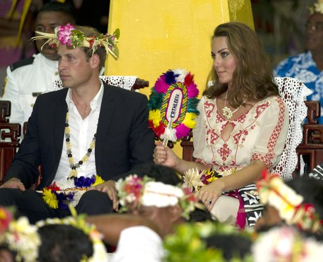 The Duke and Duchess of Cambridge Dance in the Solomon Islands