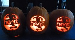 Heart Pumpkin