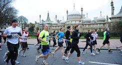 Brighton marathon 2012 runners