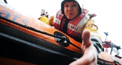 RNLI volunteer