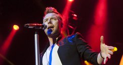 Ronan Keating on tour in the UK