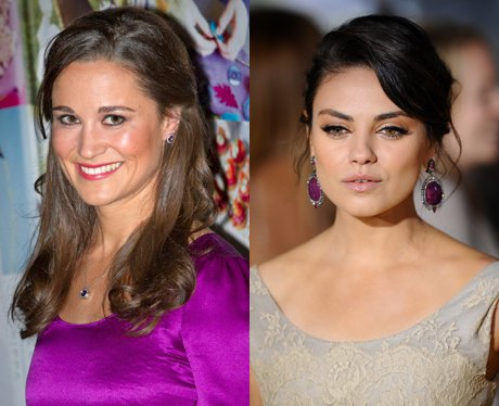 Pippa Middleton and Mila Kunis