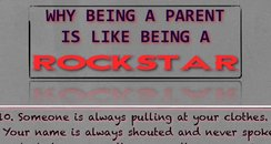 JK & Lucys why being a parent is like being a Rock