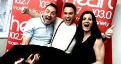 Olly Murs with Kev and Ros