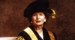 Margaret Thatcher as University Chancellor