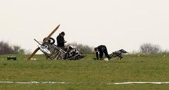 middle wallop andover hampshire small plane crash
