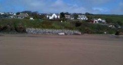 bigbury sands beach