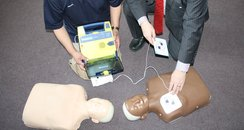 Eastleigh College defibrillators