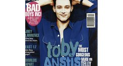 Toby covers Smash Hits Magazine