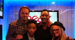 Will Smith, Jaden Smith, Jamie and Emma