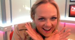 Emma Bunton in make-up