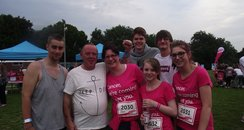 Cheering - Basingstoke Race for Life 19/06/2013
