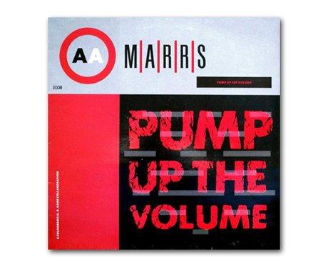 M/A/R/R/S - Pump Up The Volume album cover