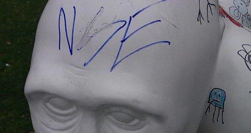 GoGoGorilla vandalised in Norwich