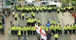 EDL Protest in Birmingham