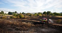 Fire at Peartree Common