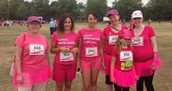 Race For Life Cambridge 2013