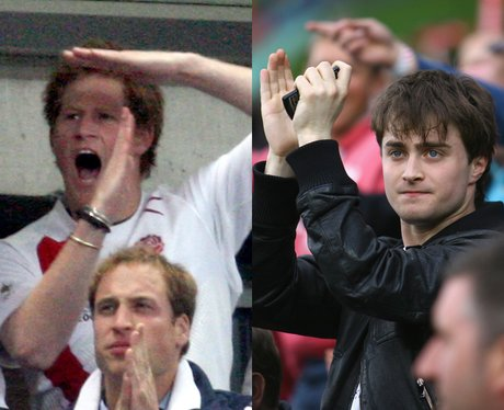 Harry Potter and Prince Harry