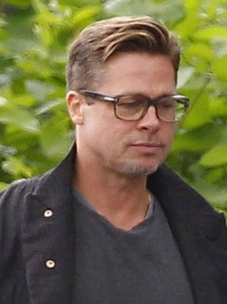 Brad Pitt Current Hair...