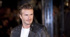 David Beckham at the opening of Belstaff House Lon
