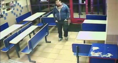 CCTV picture of Jamie McMahon from Northampton