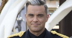 Robbie Williams video shoot