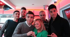 The Wanted & Emma Bunton