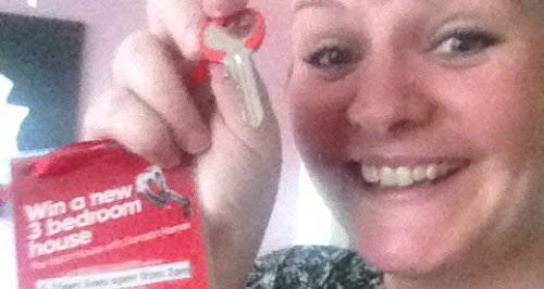 Heart House Key Winner Celine
