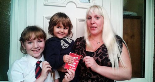 Heart House Key Winner Laura