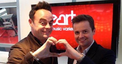Ant and Dec on Heart
