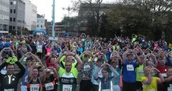 Plymouth 10k- At the Start Line