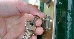 keys door