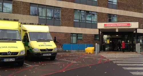 hospital a&e accident emergency department