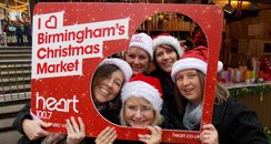 Give it some Heart: Birmingham Christmas Market (1