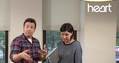 Jamie Oliver Makes Christmas Food With Emma Willis