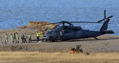 Cley Helicopter Crash