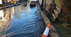 Hambledon flood