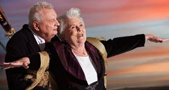 German pensioners do Titanic pose