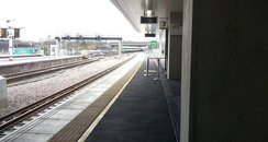Platform 7 at Gatwick