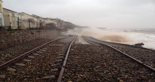 Dawlish flooding