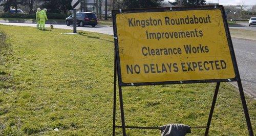 A421 Roadworks Milton Keynes