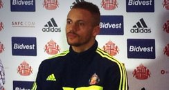 Wes Brown SAFC Sunderland Defender