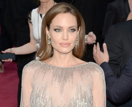 Angelina Jolie at the Oscars 2014