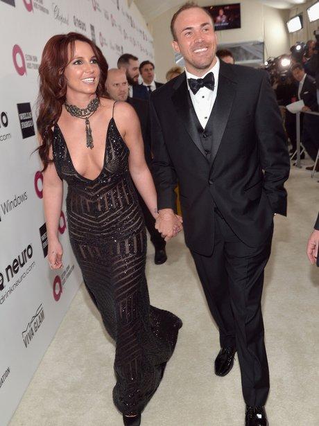 Britney Spears and David Lucado Elton John Oscars